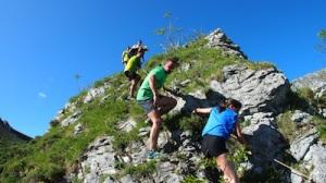 Trail Alto Aller 2013. Campeonato de Asturias de carreras por Montaña